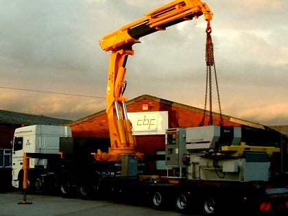heavy machinery relocation Chichester West Sussex